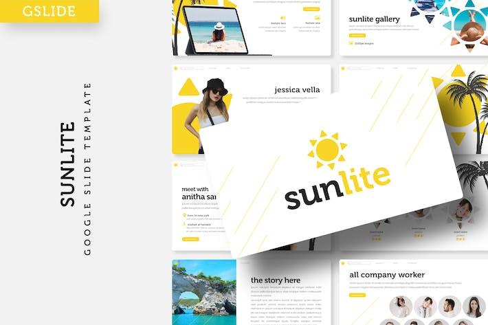 Thumbnail for Sunlite - Google Slide Template