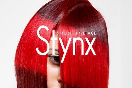 STYNX - Stylish Fashion / Display Typeface