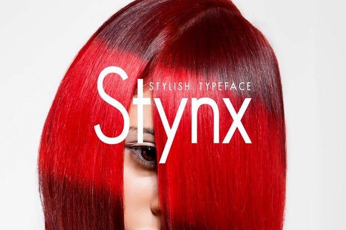 Thumbnail for STYNX - Stylish Fashion / Display Typeface