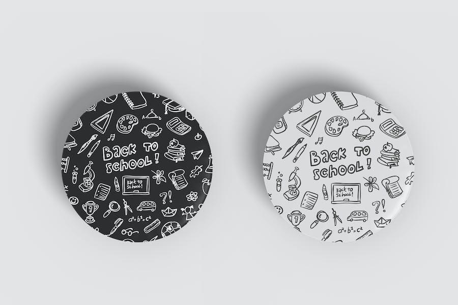 Pin Badge Mockup Vol 1.2