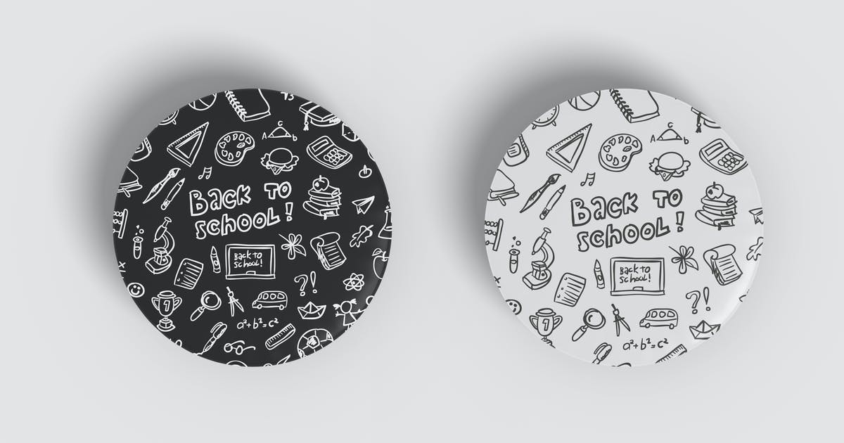 Download Pin Badge Mockup Vol 1.2 by indotitas