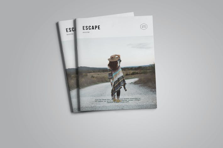 Cover Image For Escape Magazine Vol.2