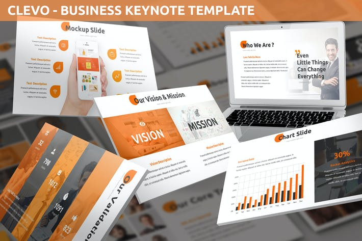 Thumbnail for Clevo - Business Keynote Template