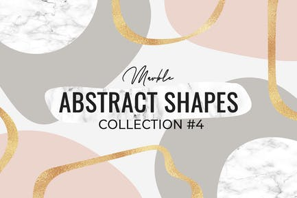 Marble Abstract Shapes #4