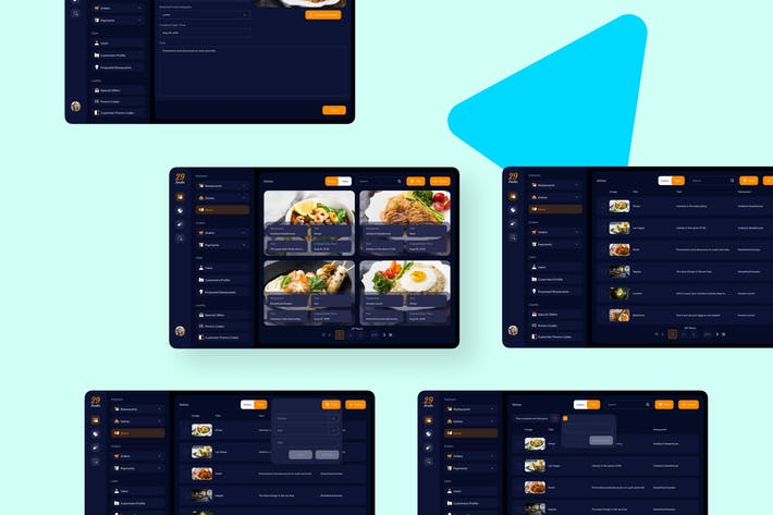 Thumbnail for 29Foodie Food Admin News Ui - FP