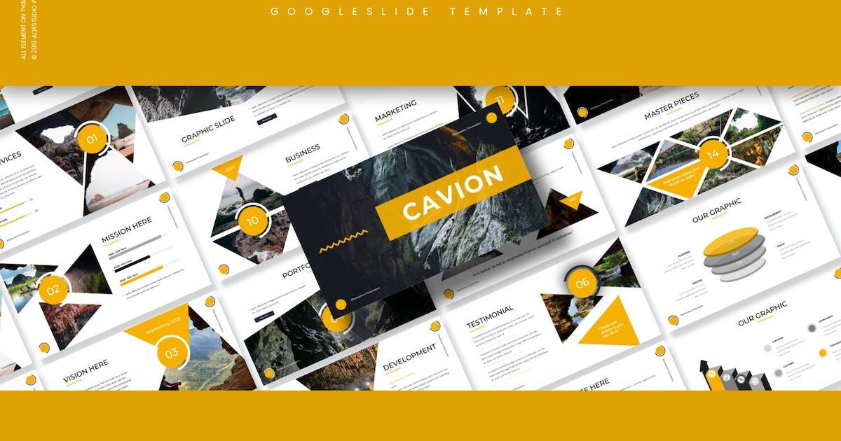 Download Cavion - Google Slides Template by aqrstudio