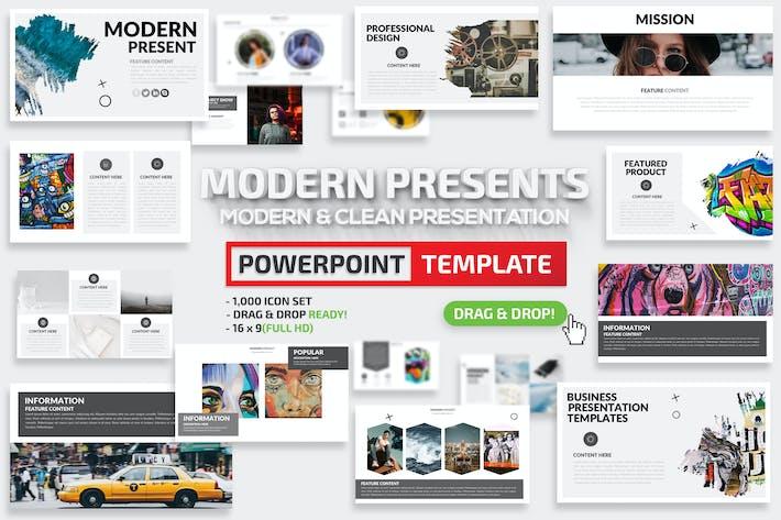 Thumbnail for Modern Powerpoint Presentation