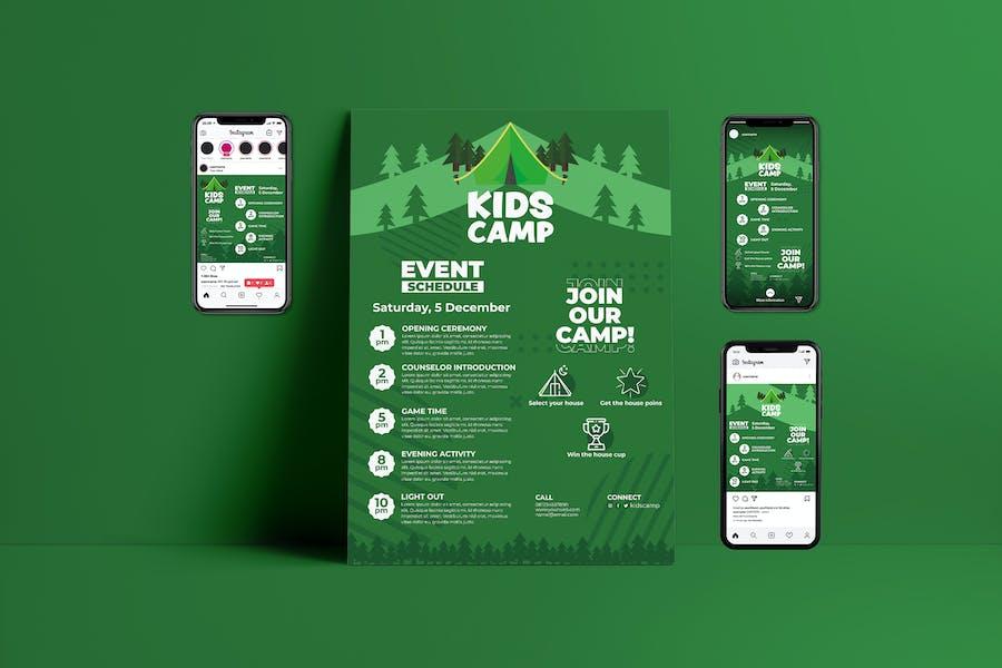 Kids Education - Flyer & Instagram Template