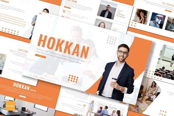 Thumbnail for Hokkan - Business Google Slides Template