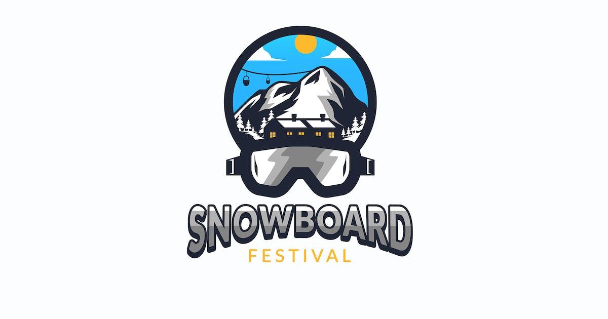 Download Snowboard Skating Logo Template by Slidehack