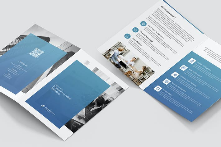 Thumbnail for Brochure – Creative Marketing Bi-Fold