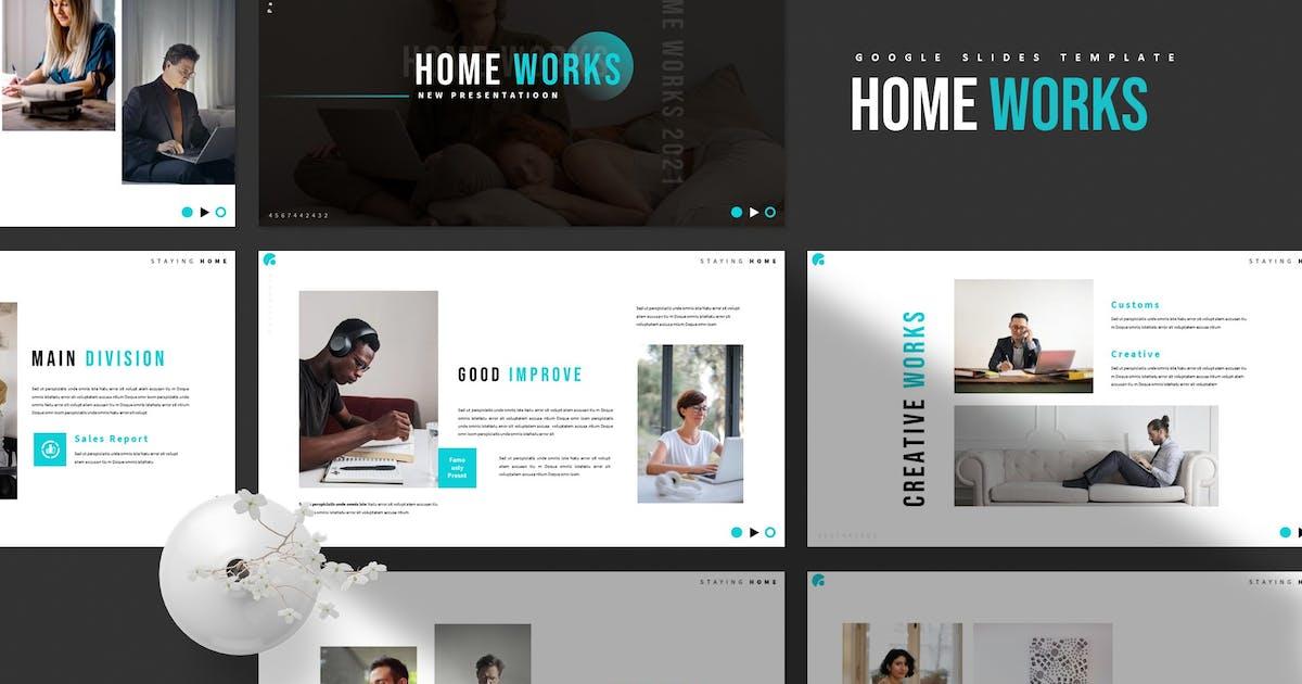 Download Home Works   Google Slides Template by Vunira