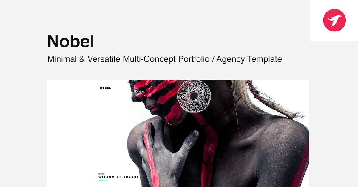 Download Nobel - Minimal & Versatile Multi-Concept Template by designova