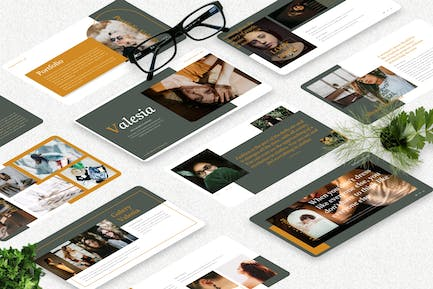 Valesia - Photography Powerpoint Template