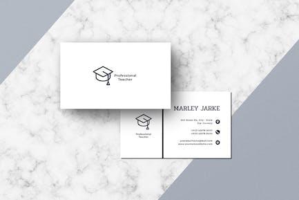 Business Card Teacher