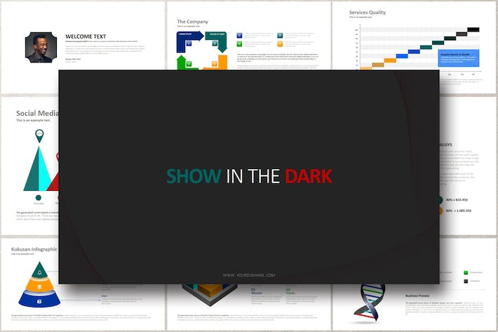 Thumbnail for SHOW IN THE DARK Google Slides