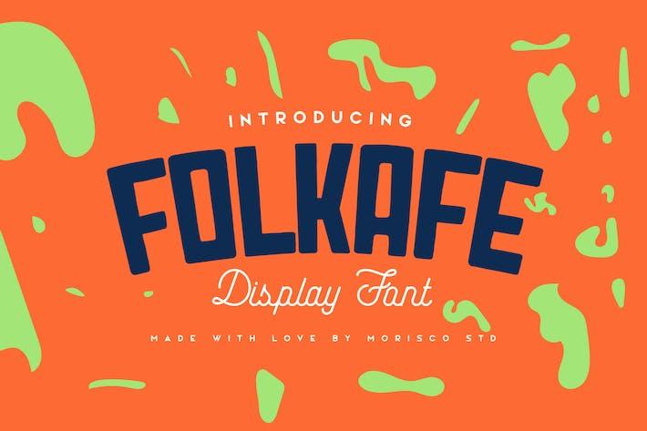 Thumbnail for Folkafe - Mostrar fuente