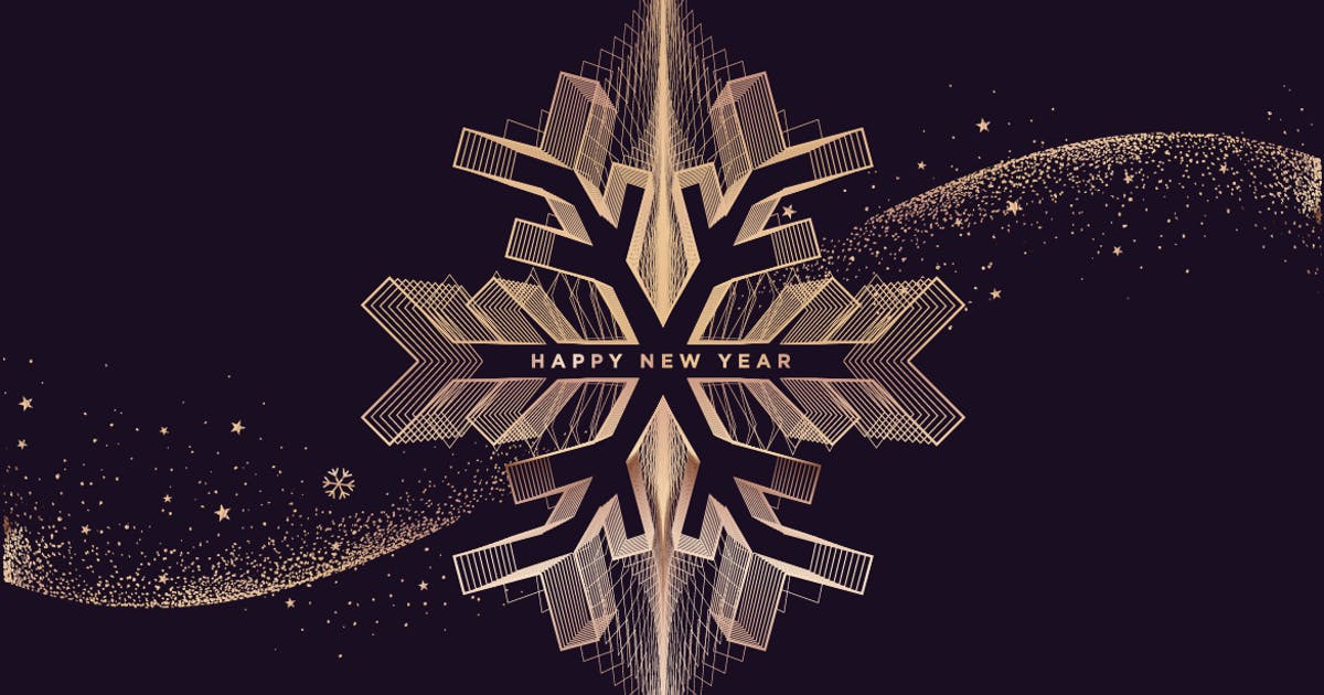 Download New Year Greeting Card by PureSolution