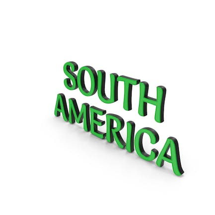 South America Text