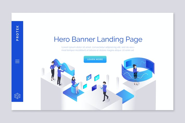 Cover Image For Protech - Hero Banner Template
