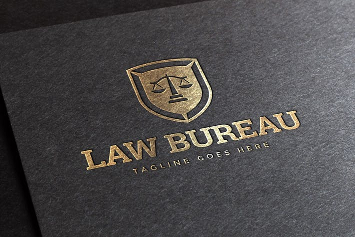 Cover Image For Law Bureau Logo Template