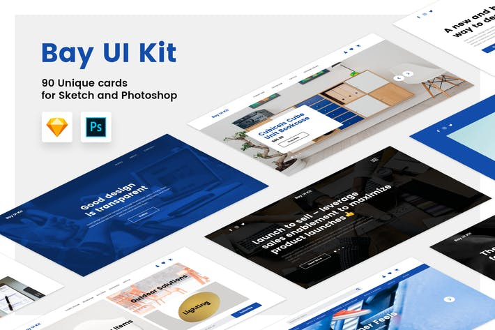 Cover Image For Bay UI Kit