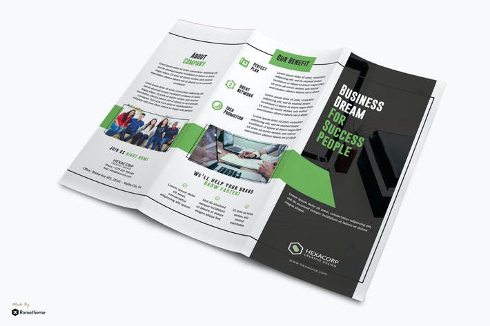 Thumbnail for Success - Corporate Trifold Template RY