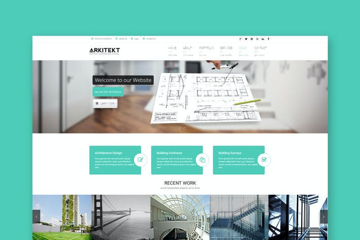 Thumbnail for Arkitekt - Premium Architecture HTML Template