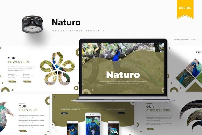 Thumbnail for Натуро | Шаблон слайдов Google