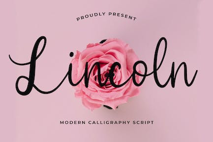 Lincoln Beautiful Calligraphy Police