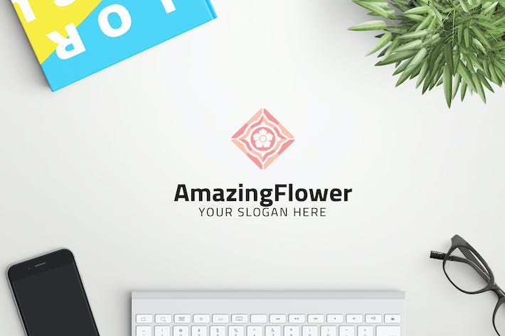 Cover Image For AmazingFlower professional logo