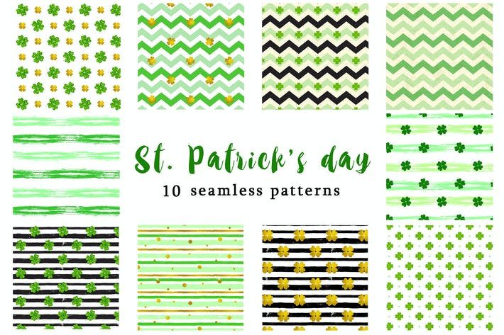 Thumbnail for Patterns for St. Patrick's day