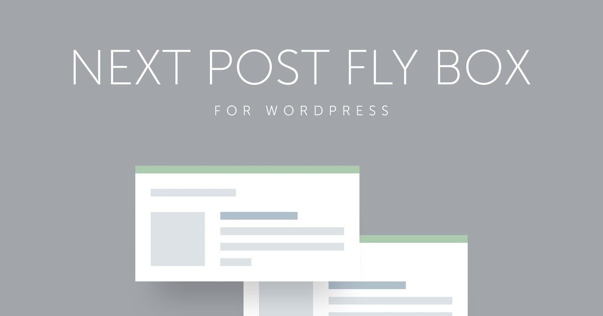 Download Next Post Fly Box for WordPress by QuanticaLabs