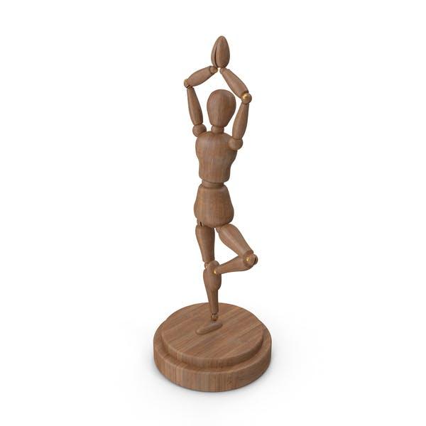Mannequin Yoga Pose