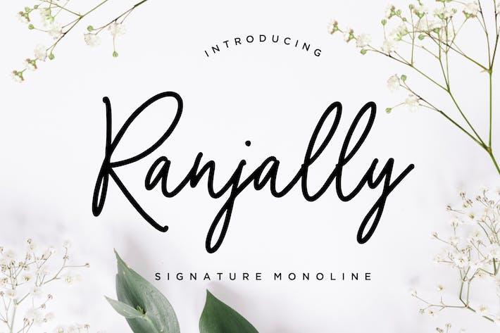 Thumbnail for Ranjally Monoline Signature
