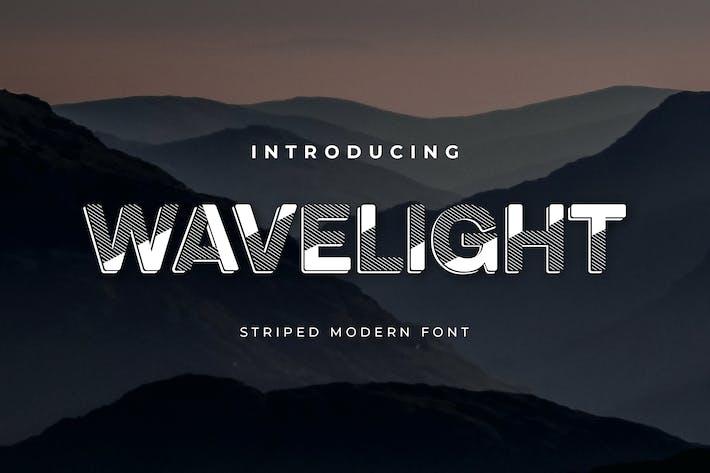 Thumbnail for Wavelight sans Serif Display Font