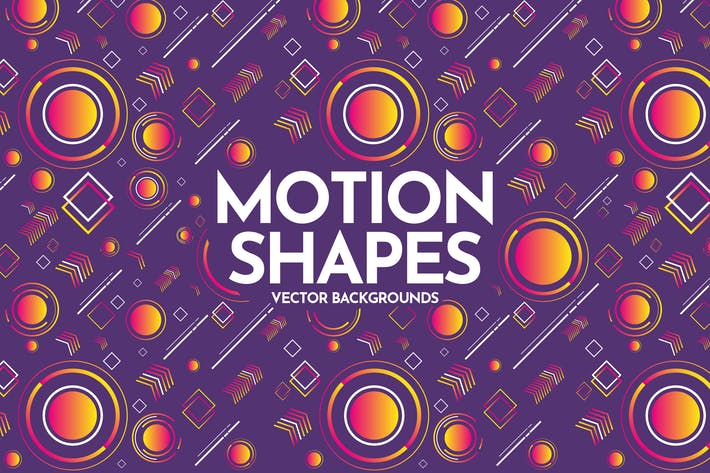 Thumbnail for Arrière-plans de formes géométriques de mouvement