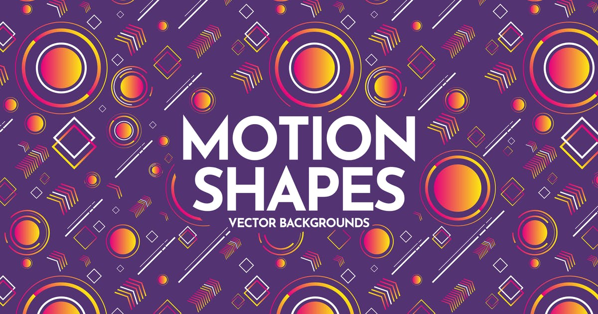Download Motion Geometric Shapes Backgrounds by themefire