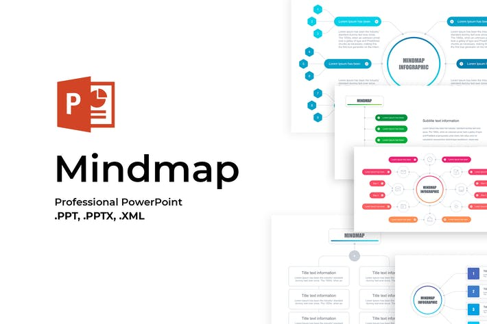 Cover Image For Mindmap PowerPoint Template
