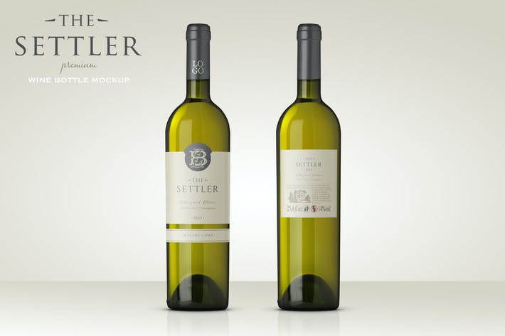 Thumbnail for Maquette de vin blanc de qualité supérieure