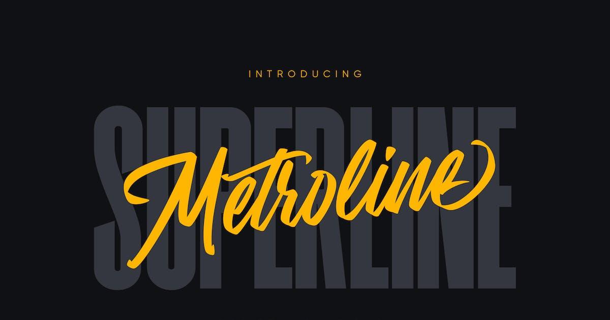 Download Metroline Script & Sans Pack by Kavoon