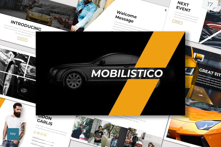 Thumbnail for Mobilistico - Keynote Template