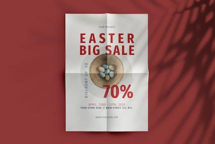 Easter Big Sale Flyer
