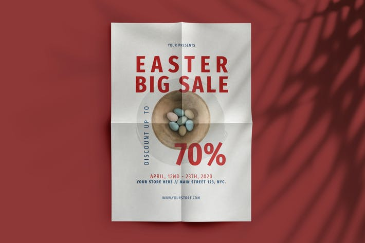 Thumbnail for Easter Big Sale Flyer