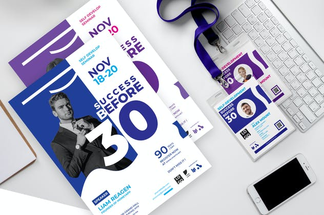 Success Before 30 - Seminar Invitation