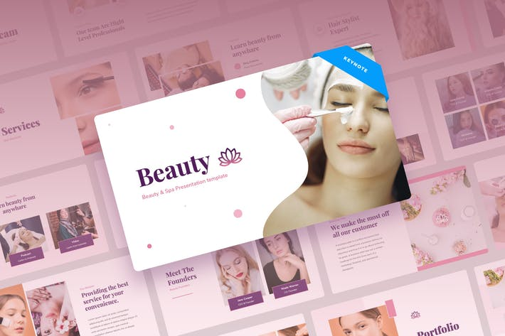 Thumbnail for Красота - Beauty & Spa Keynote вая презентация