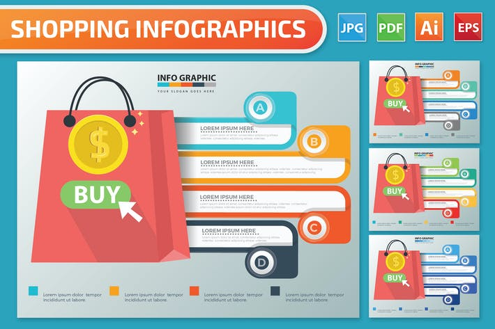 Shopping Infographics
