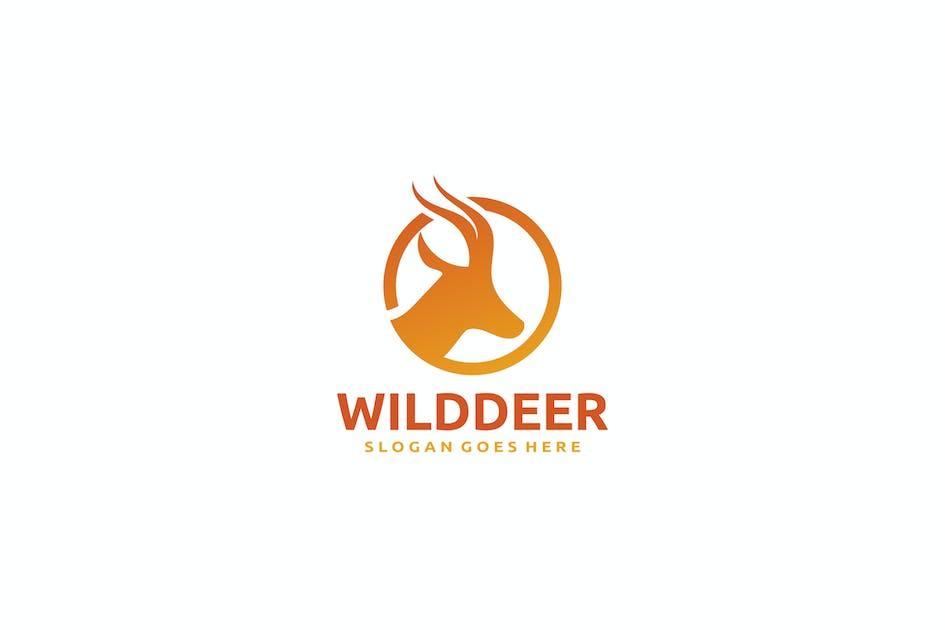 Download Deer Logo by 3ab2ou