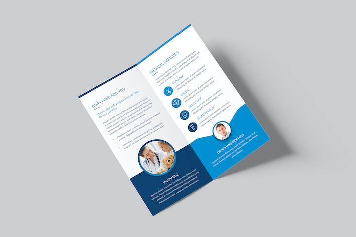 Thumbnail for Brochure – Medical Bi-Fold DL