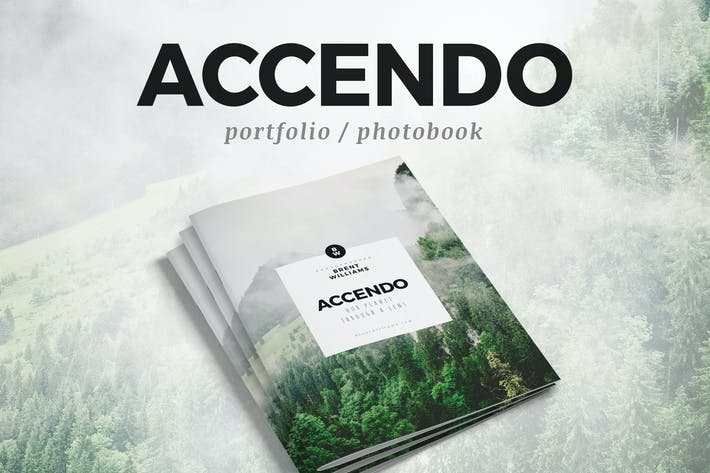 Thumbnail for ACCENDO - Portfolio / Photobook / Brochure